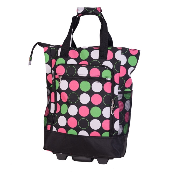 American Flyer Multi-colored Polka Dot Super Shopper