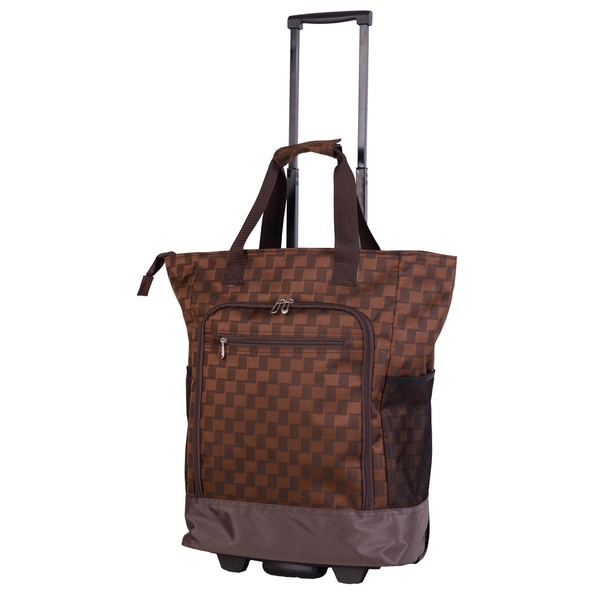 American Flyer Brown Graphic Super Shopper