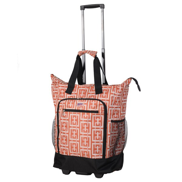 American Flyer Orange Graphic Super Shopper