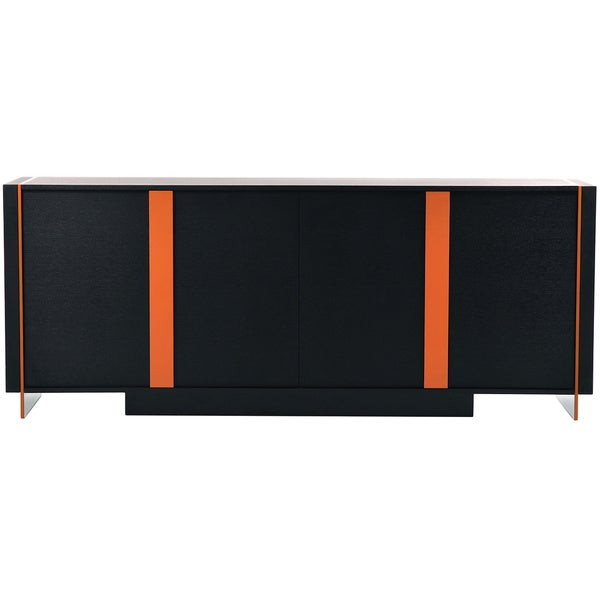 Modrest Vision - Modern Black Oak Buffet