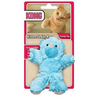 KONG Kitten Plush Teddy Bear