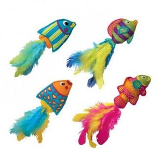 KONG Tropics Fish Toy Catnip Toys