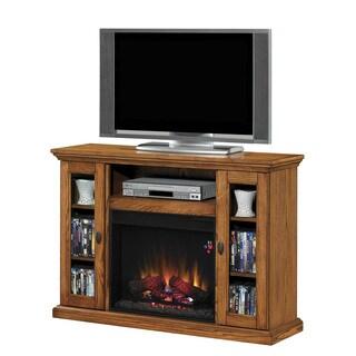 Anaheim 23-inch Oak Media Fireplace