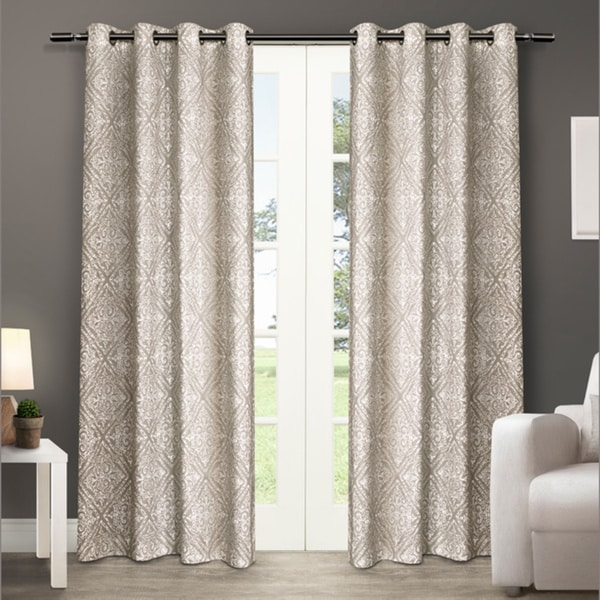 Sira Grommet Top Curtain Panel Pair