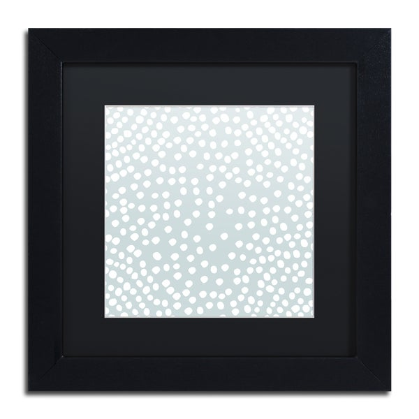 Kavan & Co 'The Scientist' Black Matte, Black Framed Wall Art