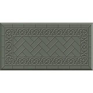Comfort Mate Backsplash Grey Kitchen Mat (20x39)