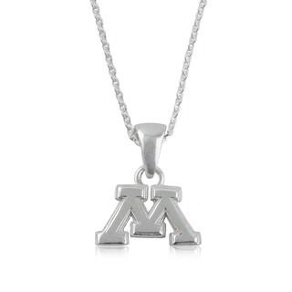 Minnesota Sterling Silver Charm Necklace