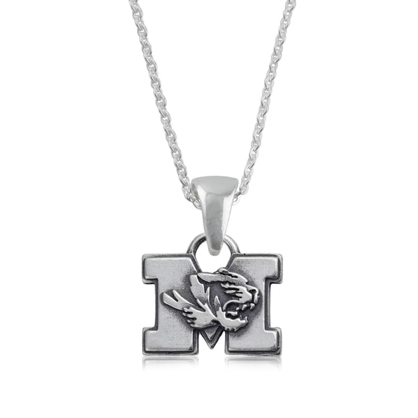 Missouri Sterling Silver Charm Necklace