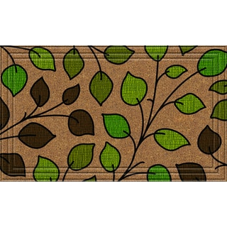 Indoor/Outdoor Summer Leaves Doormat (24x36)