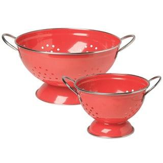 Colander Red 2-piece Set
