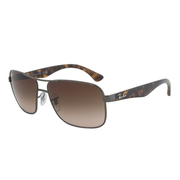 Ray-Ban RB3516 004/13 Highstreet Gunmetal Tortoise Sunglasses