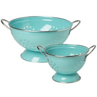 Colander Turquoise 2-piece Set