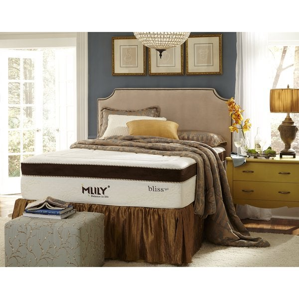 Mlily Bliss 15-inch California King-size Gel Memory Foam Mattress