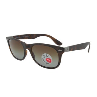 Ray-Ban RB4223 894/T5 Tortoise Brown Folding Polarized Sunglasses