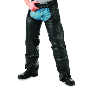 Mossi Zip Pocket Leather Chap