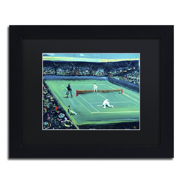 Lowell S.V. Devin 'Grand Slam' Black Matte, Black Framed Wall Art