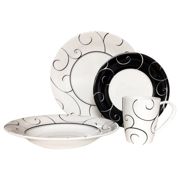 Red Vanilla Panache 16-piece Dinner Set