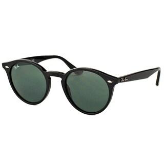 Ray-Ban Unisex RB 2180 600.141 Shiny Black Plastic Round Sunglasses
