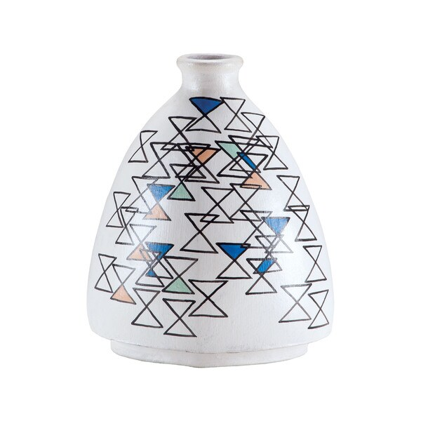 Dimond Home Stacking Eights Hand-painted Vase