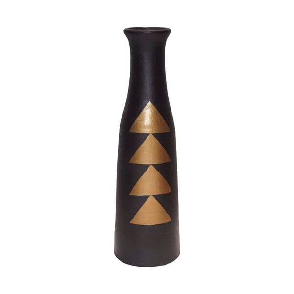 Dimond Home Golden Verticals Flute Vase