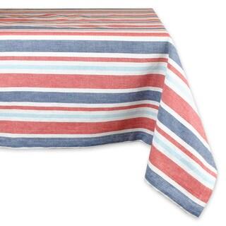 Patriotic Stripe Tablecloth