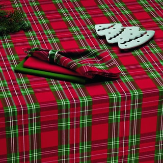 Merry Plaid Tablecloth