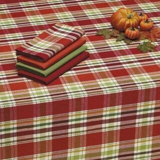 Thankful Plaid Tablecloth