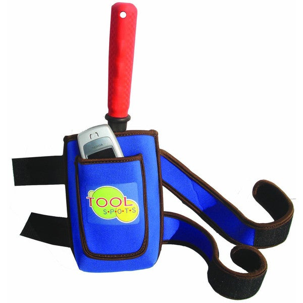 Blue, Brown Leg Tool Carrier