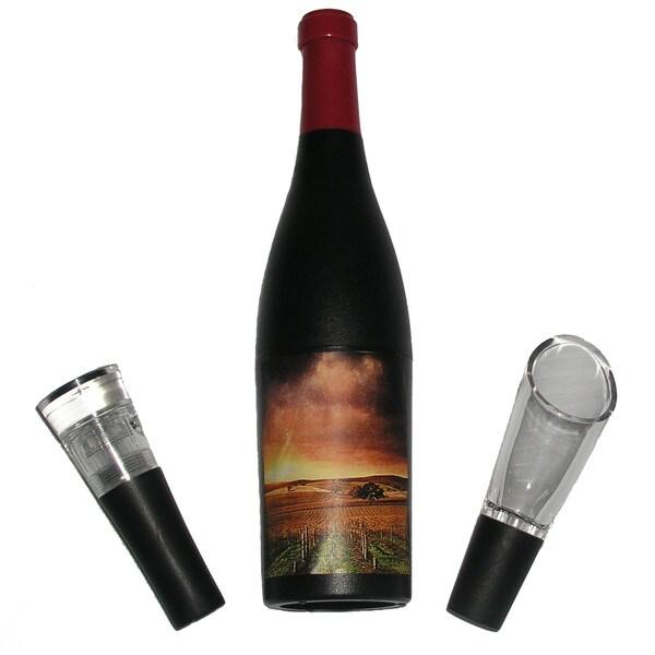 Vinomates Wine Bottle-shaped Corkscrew Set