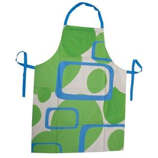 Blue, White, Green Kitchen Apron