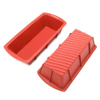 Freshware 9-inch Medium Silicone Mold/Loaf Pan for Soap and Bread