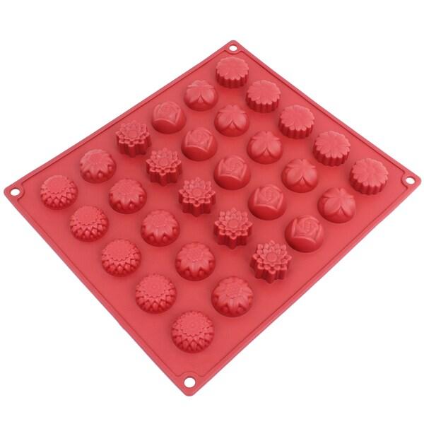 Freshware 30-cavity Silicone Flower Mold 16086674