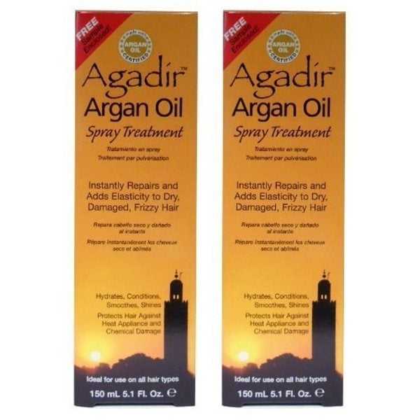 Agadir Argan Oil 5.1-ounce Spray Treatment (Pack of 2)
