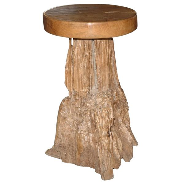 Adams Contemporary Tan Natural Barstool
