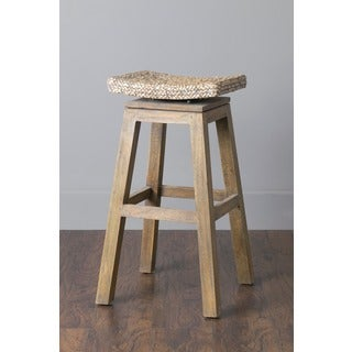 Prairie Casual Off-white Natural Counterstool