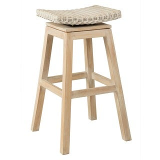 Sammamish Rustic Off-white Natural Barstool