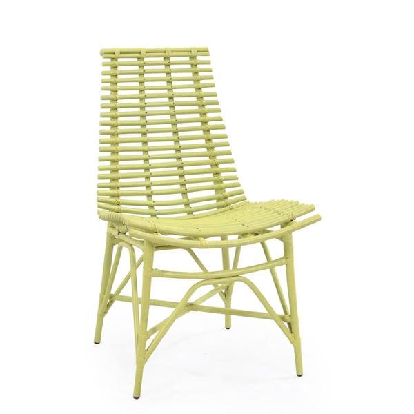 Carson Modern Green Washed Chair
