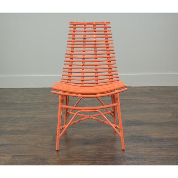 Carson Modern Orange Washed Chair