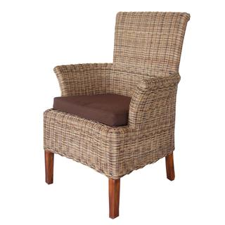 Daly Casual Tan Brown Chair