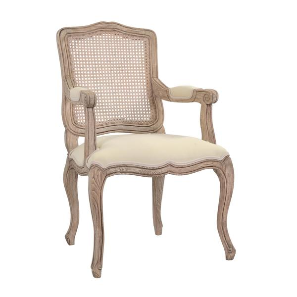 Antioch Rustic Grey Distressed Chair
