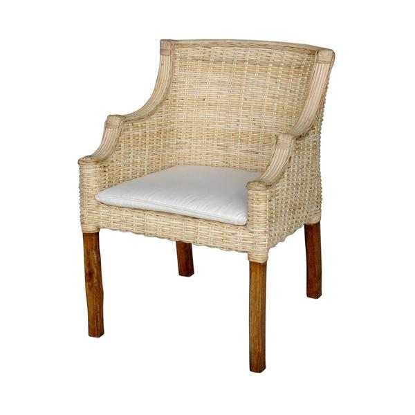 Sumpter Casual Off-white Textured Chair