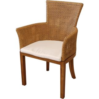 Gaston Transitional Brown Textured Chair