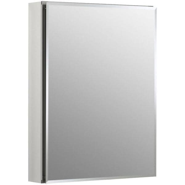 Kohler 20 inch wide x 26 inch h recessed medicine cabinet for Bathroom cabinet 8 inches wide