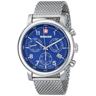 Wenger Men's Urban Classic Chrono Swiss Steel Day Date Watch