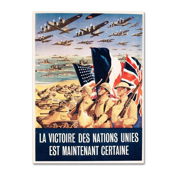 'French Propaganda Poster from World War II' Canvas Art
