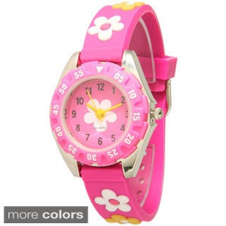 Olivia Pratt Kids' Flower Watch