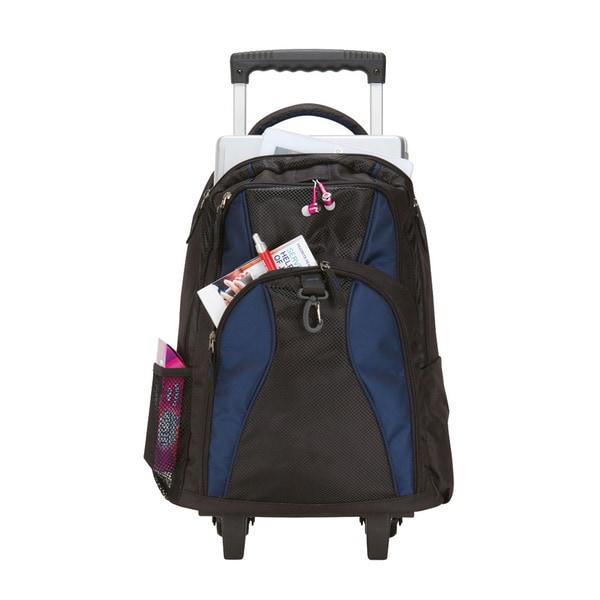 Goodhope The School Elevated Wheeled Computer Backpack