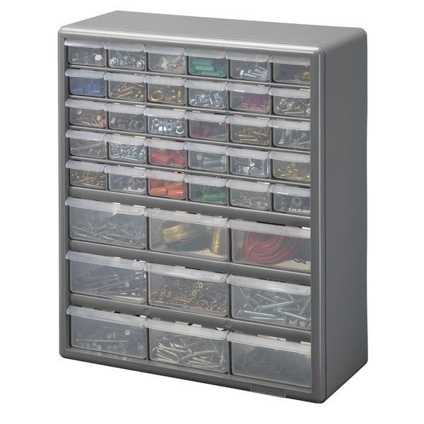 Stack-On 39 Bin Plastic Drawer Cabinet