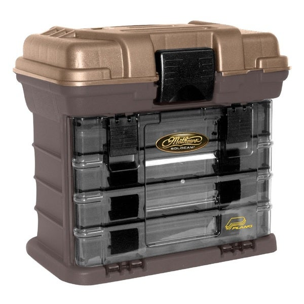 Plano Stow N' Go Pro Rack with 4 no. 23500s Prolatch Organizers