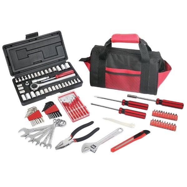 Great Neck 105-piece Multi-Purpose Tool Set with Case